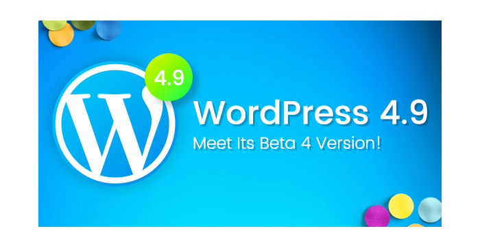 WordPress 4.9 Update is About to Come Out! Meet Its Beta 4 Version!