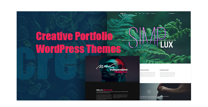 Creative Portfolio WordPress Themes to Showcase Your Works