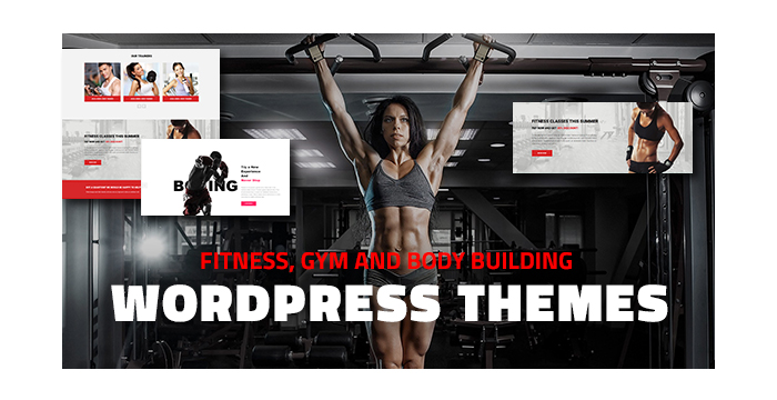 Fitness, Gym and Body Building WordPress Themes for Winter