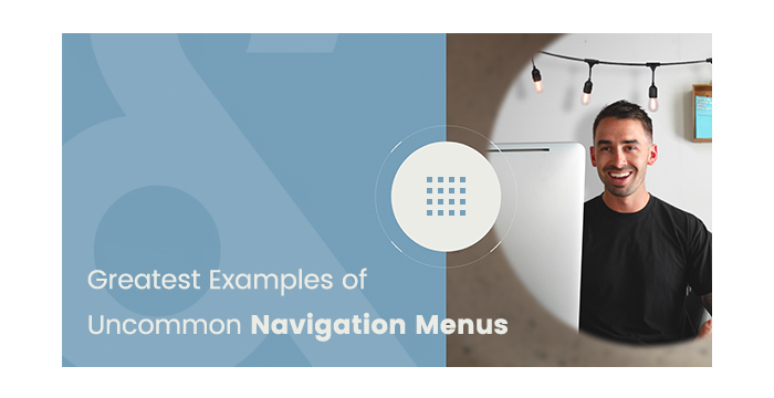 Greatest Examples of Uncommon Navigation Menus