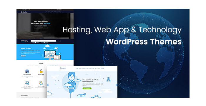 Hosting, Web App and Technology WordPress Themes for Your Websites