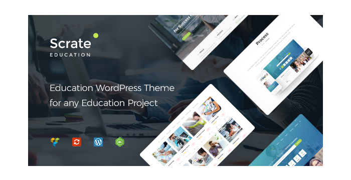 Review Scrate - WordPress Theme for Education and Teaching Online Courses