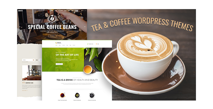 Tea and Coffee WordPress Themes for Coffee Shops and Tea Stores