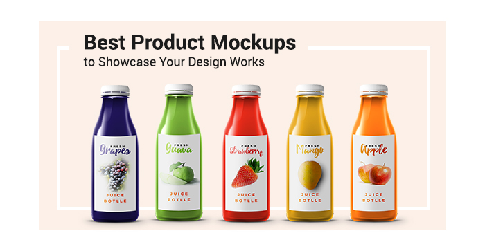 Best Product Mockups to Showcase Your Design Works