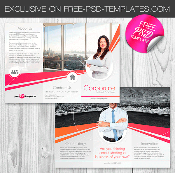 free and premium brochure templates to showcase your product gt3