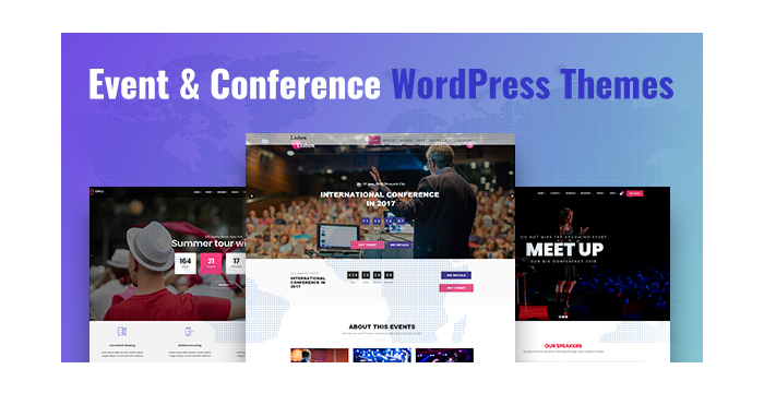 Event and Conference WordPress Themes to Promote Parties and Meetings
