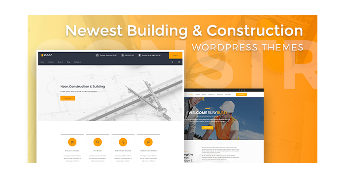 Newest Building and Construction WordPress Themes for Private and Industrial Building Services
