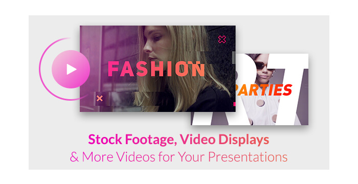 Stock Footage, Video Displays and More Videos for Your Presentations