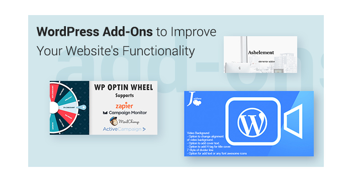 WordPress Add-Ons to Improve Your Website's Functionality