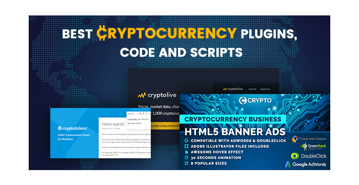 Best Cryptocurrency Plugins, Code and Scripts