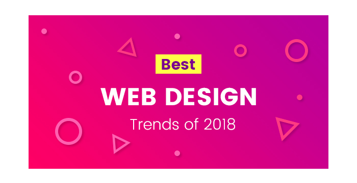 Best Web Design Trends of 2018
