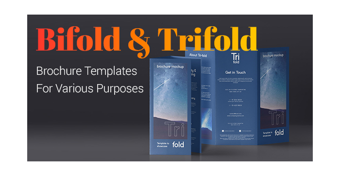 Bifold and Trifold Brochure Templates For Various Purposes