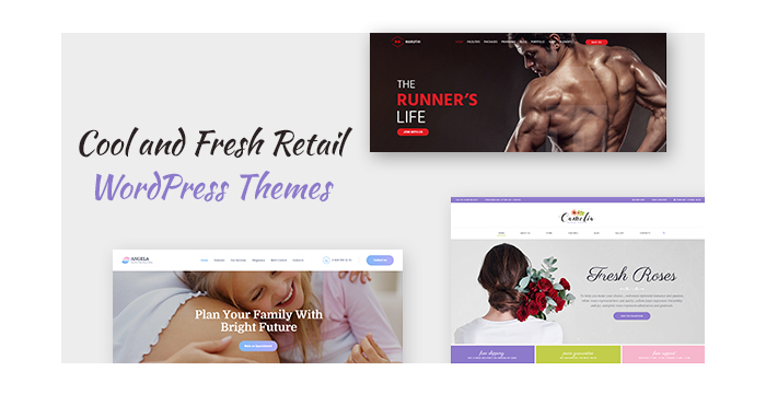 Cool and Fresh Retail WordPress Themes for Almost Any Business