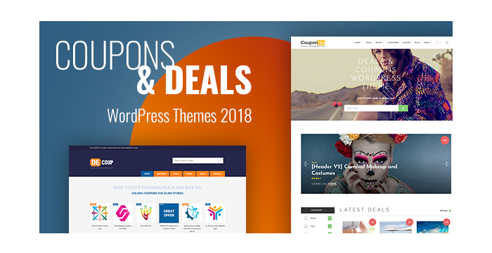 Coupons and Deals WordPress Themes 2018
