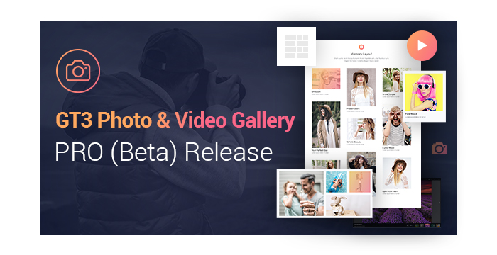 GT3 Photo Video Gallery PRO Beta Version