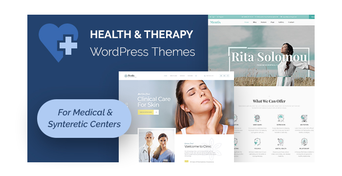Health and Therapy WordPress Themes for Medical and Synteretic Centers