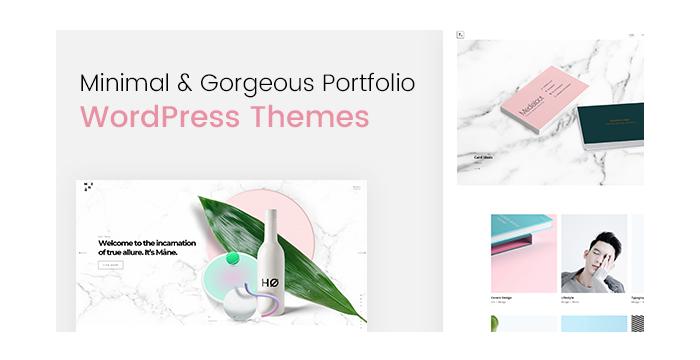 Minimal and Gorgeous Portfolio WordPress Themes to Showcase Your Creativity