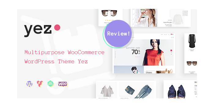 Multipurpose WooCommerce WP Theme Yez - A Universal eCommerce Solution