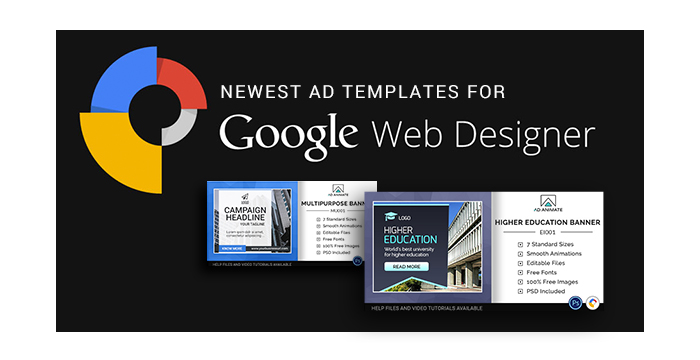 Newest Ad Templates For Google Web Designer Software GT Themes - Google design templates