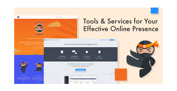 Tools and Services for Your Effective Online Presence