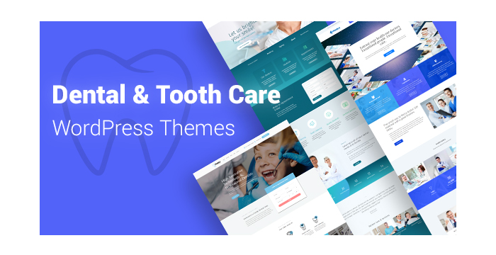 Dental and Tooth Care WordPress Themes for Medical Services Websites