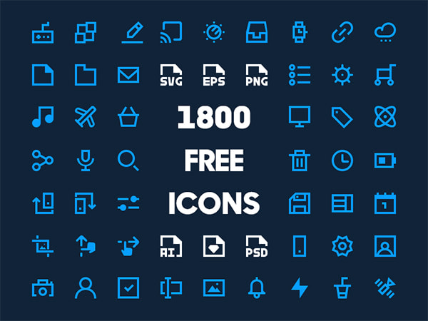 Free and Premium Icon Sets for Your Best Designs | GT3 Themes