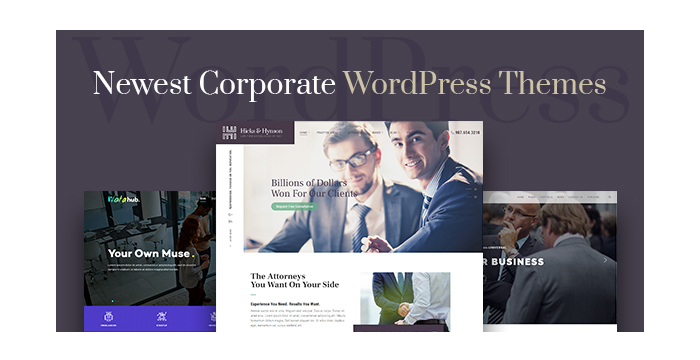 Newest Corporate WordPress Themes for Your Business Growth